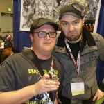 Cody Wiley and Cig Neutron at WonderCon 2012