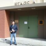Stage A on the Walt Disney Studios lot in Burbank
